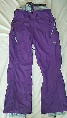 Special Blend Professional Mens Large Purple Ski/Snowboard Pants