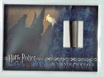 Harry Potter Goblet of Fire Prop Card P14a Death Eater Wands 25 Incentive 19/64