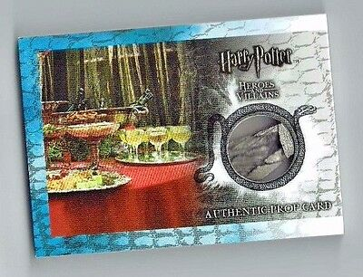 Harry Potter Heroes & Villains Chicken Foot Goblet Base Ci4 Prop Card 058/092