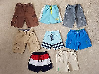 Boys Shorts Bundle Age 18-24 Months - Nursery/Messy Play/Paying Out