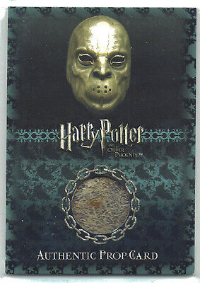Harry Potter Order of the Phoenix P2 Prop Card Death Eater Mask 098/100