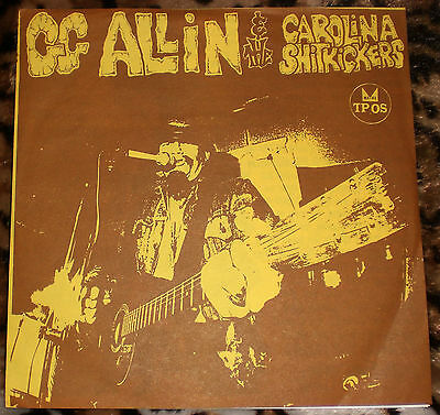 "GG ALLIN & THE CAROLINA SHITKICKERS Layin' Up With Linda 7"" EP antiseen g.g."