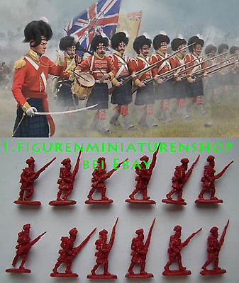 1:72 FIGUREN 146 Highlanders in Attack - STRELETS NEU