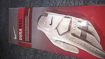 Ladies Nike Durafeel golf glove for right handed golfer size Large