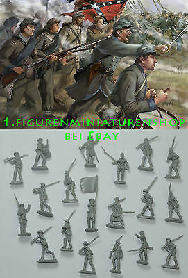 1:72 FIGUREN 148 Pickett's Charge 1 Gettisburg - STRELETS NEU