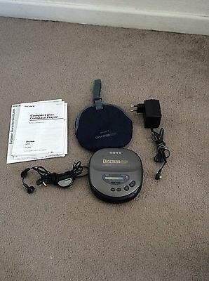 Sony Discman Compact Disc Player D-345 ( Emballage+manuel)