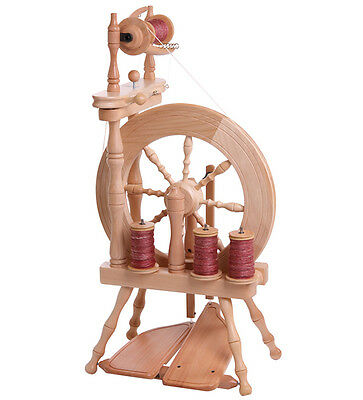 Ashford Traveller Spinning Wheel   Single Drive   Bare Timber  Brand New