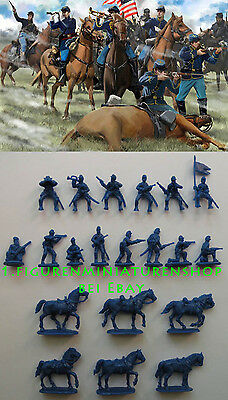 1:72 FIGUREN 151 US Cavalry Gettisburg - STRELETS NEU