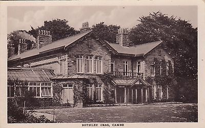 Rothley Crag, Country House, Cambo, Northumberland. Rp, C1920.