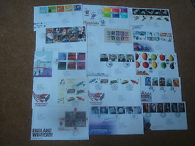 Excellent Collection 2003 GB FDCs - all spec HS (15) - rf200