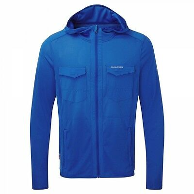 CRAGHOPPERS Nosilife Mens Chima  HOODY Jumper Jacket Blue **RRP £65** XL ONLY