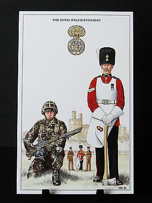 Geoff White – The British Army Series – No 38  – The Royal Welch Fusiliers