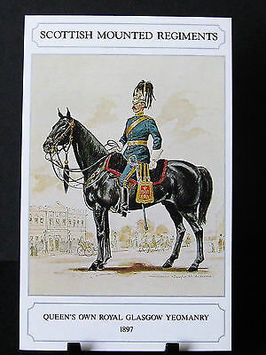 Geoff White –Scottish Mounted Regiments – Queens Own Royal Glasgow Yeomanry 1897