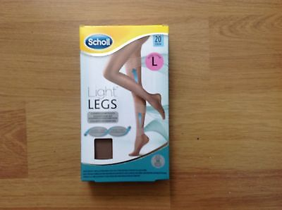 Scholl Light Legs Compression Tights 20 Den Nude- Large