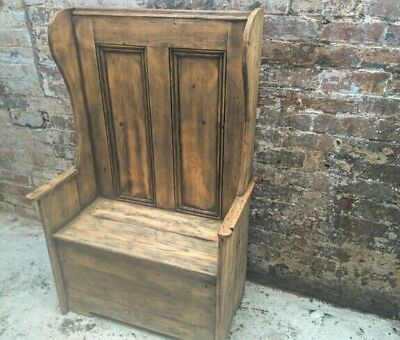 Victorian pine church pew.Free delivery East Lancs & Preston. £30 rest of Lancs