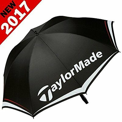 """new 2017"" Taylormade 60"" Tour Logo Single Canopy Golf Umbrella / Brolley"