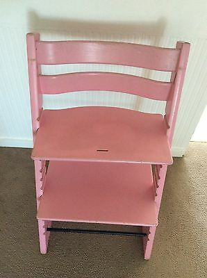 Stokke Tripp Trapp High Chair Baby Pink Colour 1