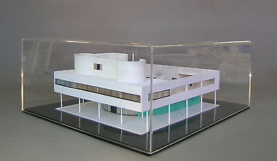 ARCHITECTURE, Le Corbusier, VILLA SAVOYE, 1:100 scale model + plexiglass cover