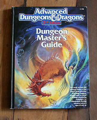 Dungeons & Dragons 2nd Edition, Dungeon Master's Guide, 1989