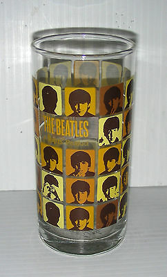 BEATLES tall beer drinking glass 2006 Apple