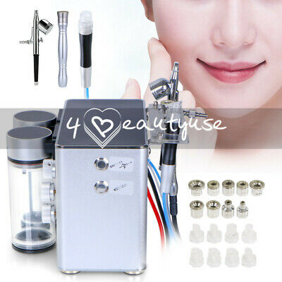 3 In1 Hydro Dermabrasion Microdermabrasion Water Peeling Facial Beauty Machine