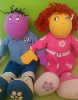Tweenies Milo And Fizz Soft Toys