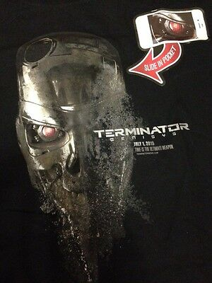TERMINATOR GENISYS 2015 Comic-Con Exclusive T-Shirt SDCC Tee Medium M