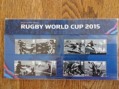 Royal Mail 2015 Rugby World Cup Stamps in Presentation Pack PP491 (no. 517)