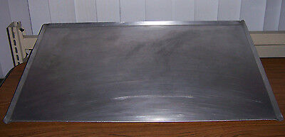 "HOT DOG ROLLER ALUMINUM DRIP TRAY 25""W x 16""D X 3/8""H /LARGE COOKIE TRAY"