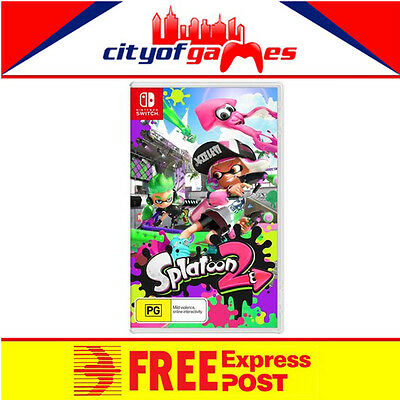 Splatoon 2 Nintendo Switch Game New & Sealed Free Express Post Pre Order
