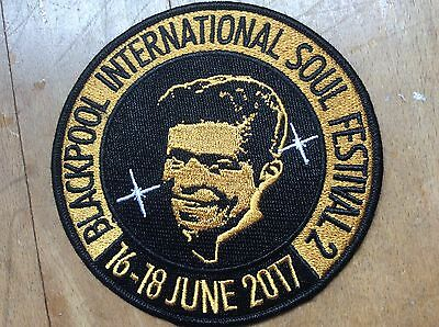 Blackpool International Soul Festival 2017 - Official Embroidered Patch