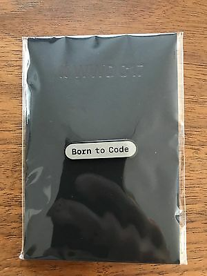 Apple WWDC 2017 Born to Code Pin - Rare, Limited, Unopened