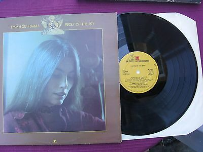 """Emmylou Harris """" Pieces Of The Sky """"  12""""  L.P. vinyl  record 1975"""