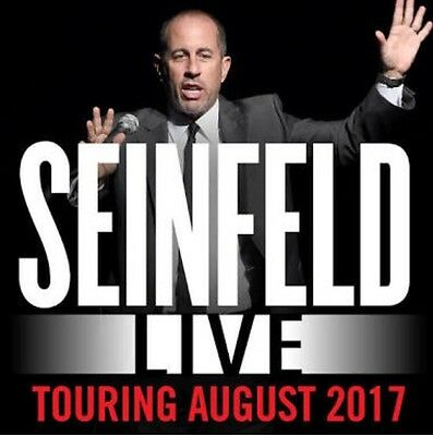 2 x Jerry Seinfeld Tickets - Melbourne - Tues 8th