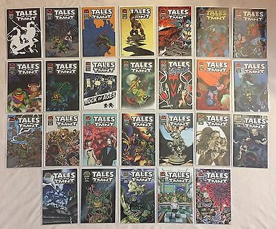 Tales of the TMNT LOT of 26 including later rare issues Ninja Turtles
