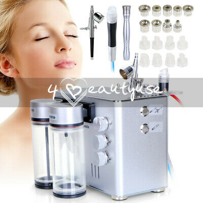 3 In1 Hydro Dermabrasion Microdermabrasion Water Peeling Facial Lifting Machine