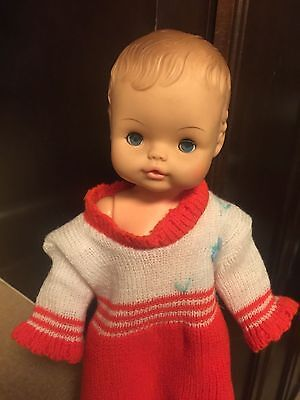 Vintage Horsman Doll 1971 drink and wet  sleep eyes doll