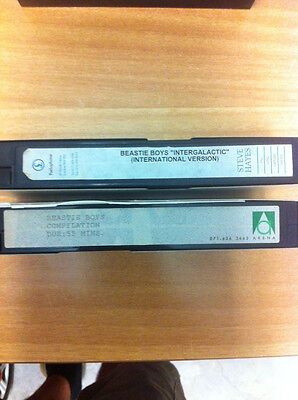 2 Promo Vhs Tapes Beastie Boys Videos Pal Free Shipping