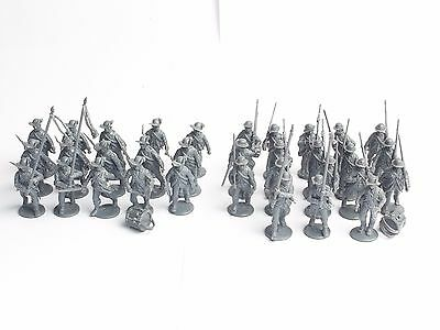Perry Miniatures 28Mm Awi Continental  Infantry X 33. Assembled