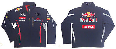 Infinity Red Bull Racing F1 Rain Jacket Mens (S) New