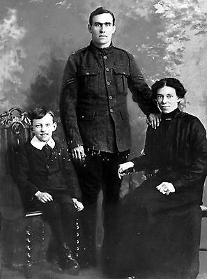 WW1 WWI soldier Hunter Armstrong, RFA & family - Newbiggin Newcastle