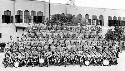 post WW1 WWI Scottish soldiers Argyll & Sutherland Highlanders in Egypt 1924