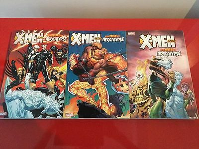 Complete X-Men The Age of Apocalypse Vol.1-3 TPBs