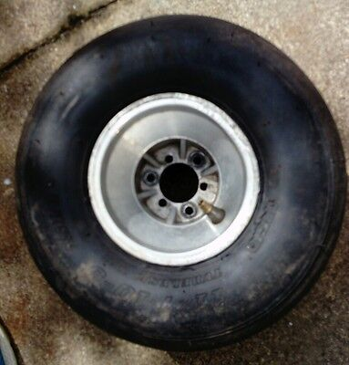 Go kart rear wheel