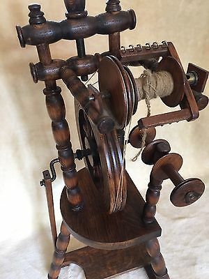 Spinning Wheel Good Working Order Rare Usable Decorative Collectors Item