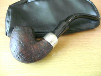 Kapp & Peterson Briar Pipe with Sterling Silver Mount