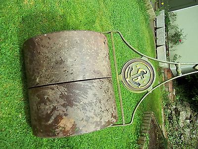 Quality Vintage Antique Garden Roller by S E Haward and Co Ltd Tunbridge Wells