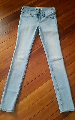 NWOT $59 Abercrombie skinny jeans girls 12 stretchable