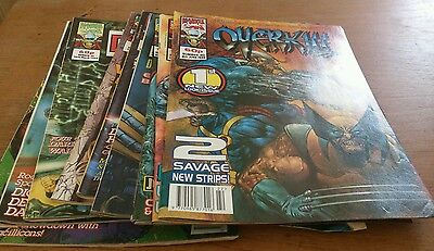9 Overkill Comics,1993, Marvel Uk
