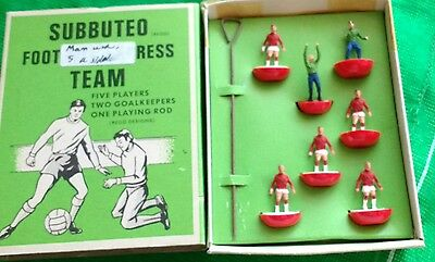 Subbuteo Set E. 300 Football Express Team Manchester United